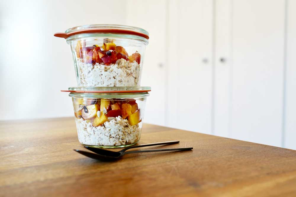coach malick overnight oats to go recipe